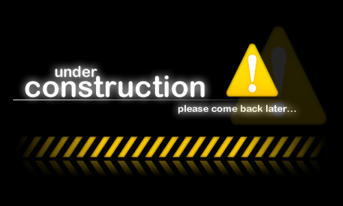 Site under Construction please come back later